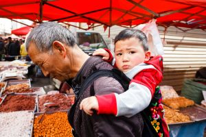 local market in China