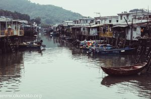tai o, village, hong kong, town on river